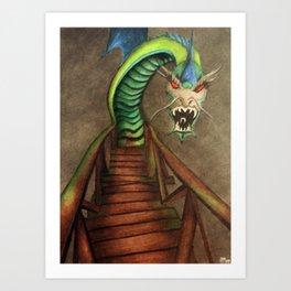 Dragon Bridge Art Print