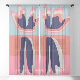 Eletmu Sheer Curtain