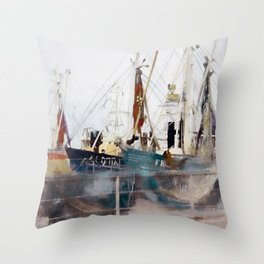 Fishermens friend Throw Pillow