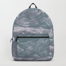 Light slate gray stained watercolor Backpack