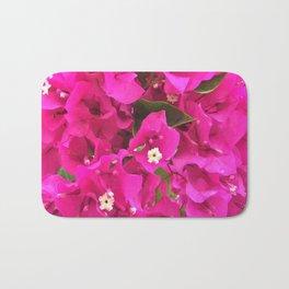 Pink Flower Bloom Bath Mat