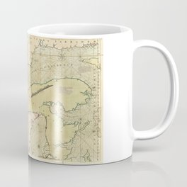 Map of the Saint Lawrence River (1771) Coffee Mug