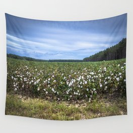 Cotton Fields  Wall Tapestry
