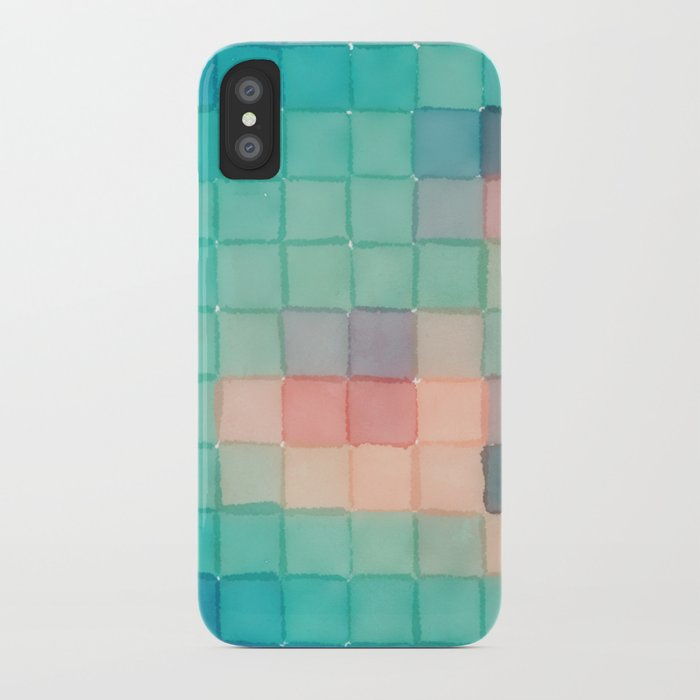 Polaroid Pixels VI (Crabapple) iPhone Case
