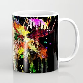 Moose Grunge Coffee Mug