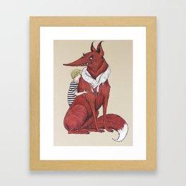 Oscar and the Fox Framed Art Print