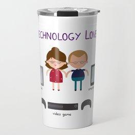 Technology Love Travel Mug