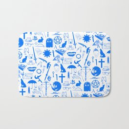 Buffy Symbology, Blue Bath Mat