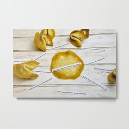 Fortune Cookies Metal Print