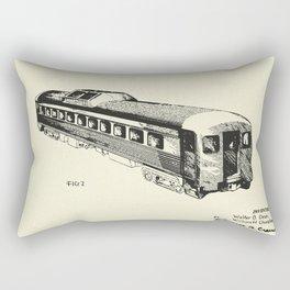 Railway Car-1951 Rectangular Pillow