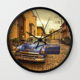 Trinidad Chevy Blues Wall Clock