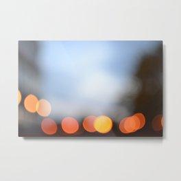 Dawn Lights Metal Print
