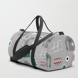 Deer and winter clothing Duffle Bag