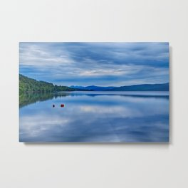 Red Buoys on Loch Rannoch Metal Print