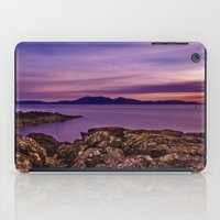 west coast iPad Cases featuring West Coast Goodnight by Paul & Fe Photography