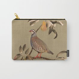 Partridge in Pear Tree Carry-All Pouch