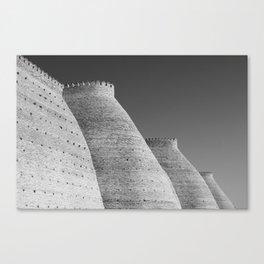 bukhara walls Canvas Print