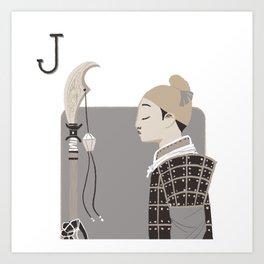 Jack S. Art Print