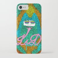 lsd iPhone & iPod Cases featuring Lsd party by DIVIDUS