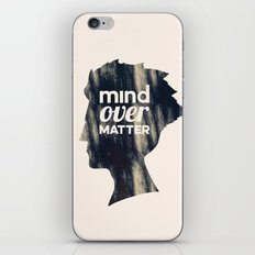 Mind Over Matter iPhone & iPod Skin