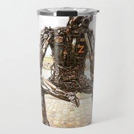 The Key to the Future Travel Mug