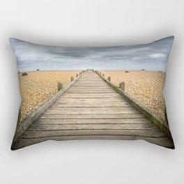 Beach Walkway Rectangular Pillow
