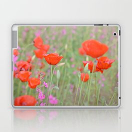 Poppies and Campions Laptop & iPad Skin