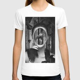 crow crown T-shirt