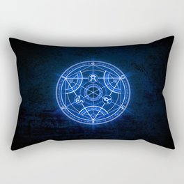 Human Transmutation Circle Rectangular Pillow