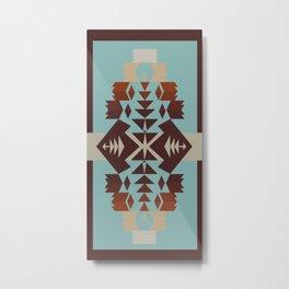 American Native Pattern No. 290 Metal Print