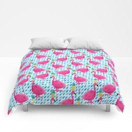 Party Flamingos Comforters