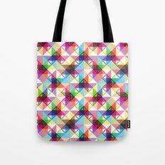 Abstract blocks pattern Tote Bag