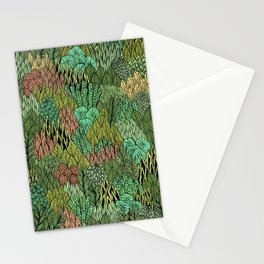 April Leaves Stationery Cards
