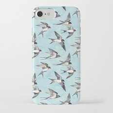 Blue Sky Swallow Flight Slim Case iPhone 7