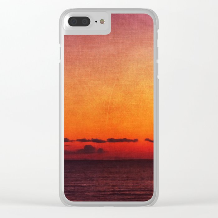 In All My Days, I Still Loved You Clear iPhone Case