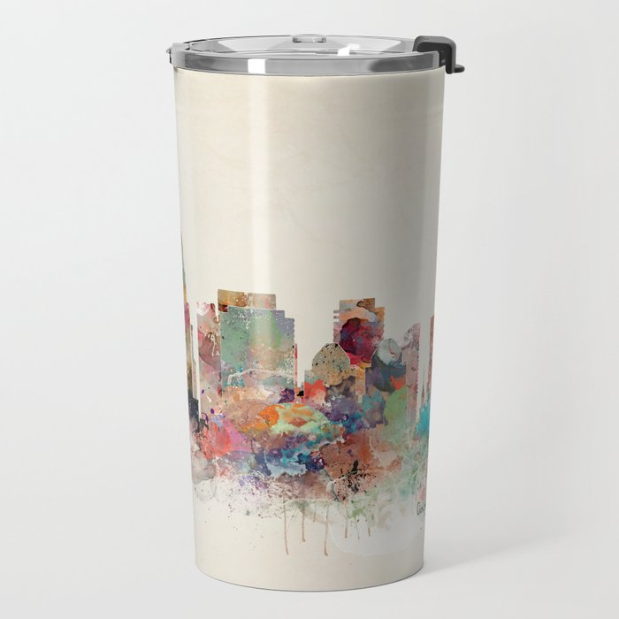 Cincinnati ohio skyline Travel Mug