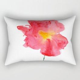 Dream big || watercolor flower Rectangular Pillow