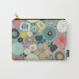 oriental blooms Carry-All Pouch