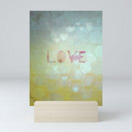 love. Mini Art Print