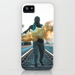 Los Angeles Renegade Smoke Grenade iPhone Case