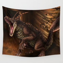 Creatures of the Nameless City Wall Tapestry