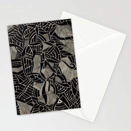 - cosmophobic cow - Stationery Cards