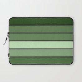 Green Stripes Laptop Sleeve