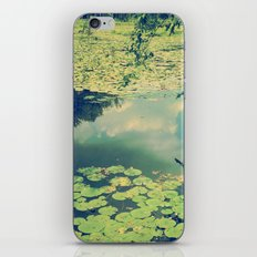 Lily Pad Pond iPhone Skin