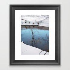 Snow 4 Framed Art Print