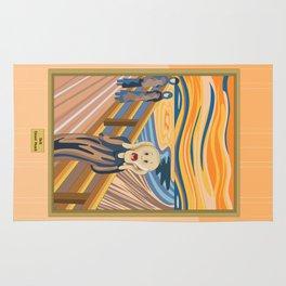 The Scream by Munch Rug