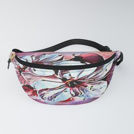 Floral Embosses: Pictorial Cherry Blossoms 01-01 Fanny Pack
