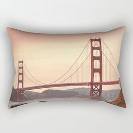 Golden Gate Bridge (San Francisco, CA) Rectangular Pillow