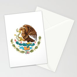 coat of arms of Mexico Stationery Cards