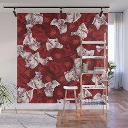 Belle Fleur: Tulip Ranunculus Wall Mural